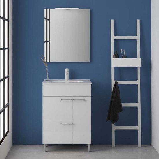 24 Confort 2DR1D White